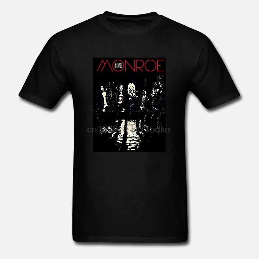 Michael monroe 78 preto t camisa hard rock glam metal hanói rochas demolição 23