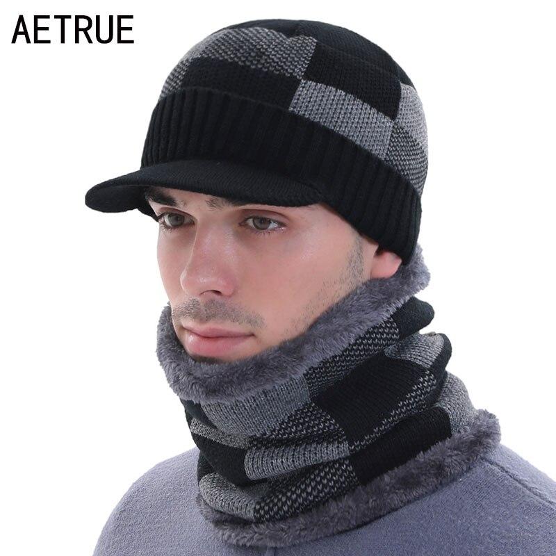 Beany Skullies Beanies gorros de invierno para hombres gorra de invierno cuellos de mujer sombrero de punto máscara masculina Gorro de invierno Gorro