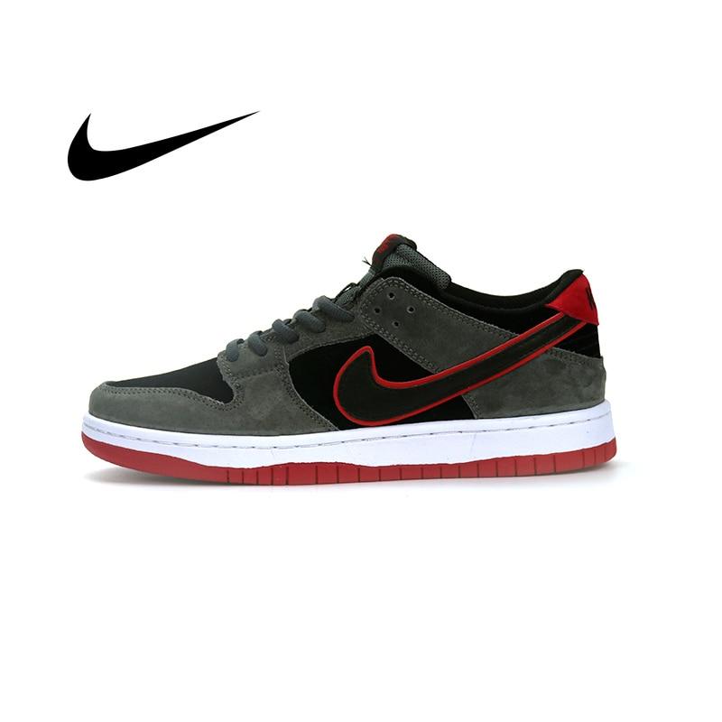 Nike sb zoom dunk low pro iw tênis para skate, calçados masculinos casuais e antiderrapantes, com tecido respirável