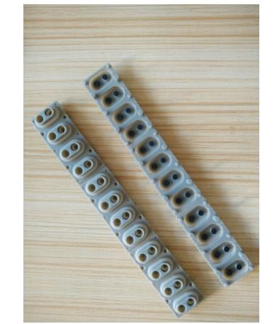 موصل المطاط لوحة الاتصال زر D-الوسادة لرولاند EP9 كورج Pa80 استبدال مفاتيح لوحات المفاتيح