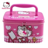 hello kitty cute cartoon piggy bank with lock anti fall piggy bank creative children birthday
