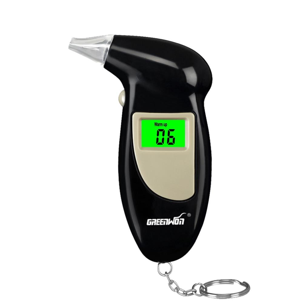 GREENWON KT-68AS التنفس كيتون نظام مراقبة LCD اختبار الكحول الرقمية الكحول كاشف الكحول الشرطة Alcotester