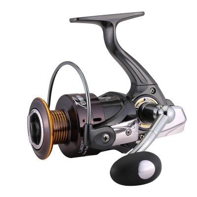 SeaKnight LJ1000-7000 Fishing Reel 13BB  Aluminum Spool Wheel 5.2:1 Spinning Fishing Reel