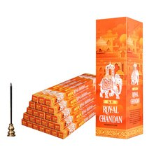 Haute qualité Royal Chandan indien encens bâtons de bois de santal bâton encens 5/15/25 Tubes en gros Lots en vrac parfums pour la maison