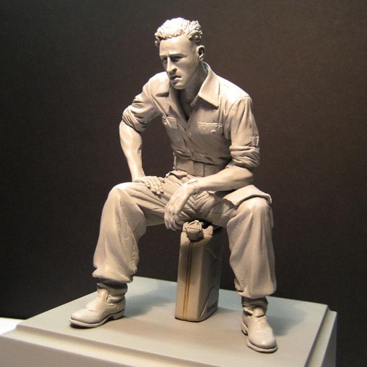 1/16 Soldier Resin Figure Building Kit