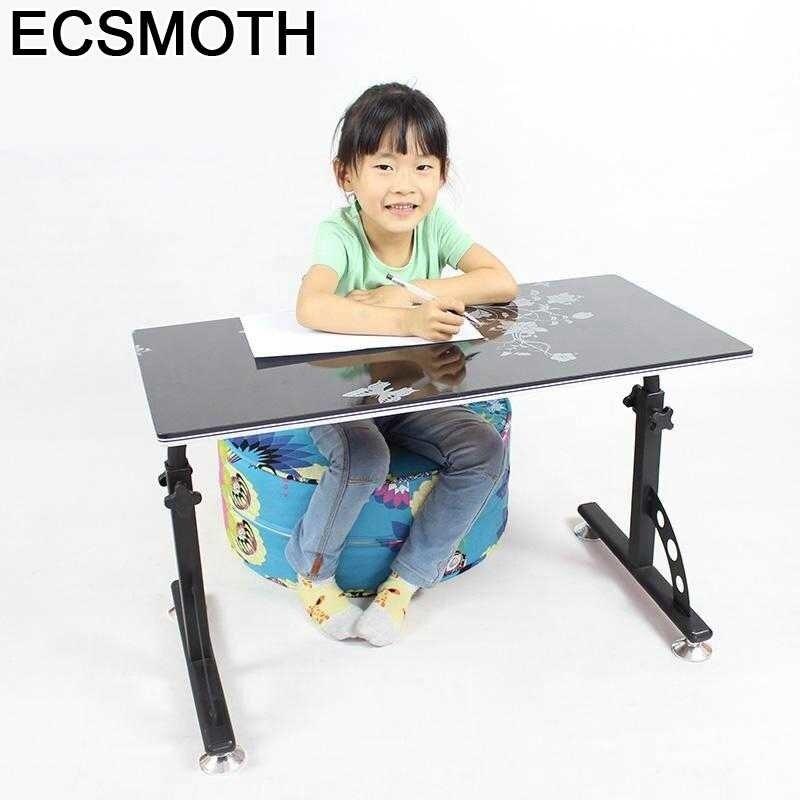 Стол компьютерный портативный, прикроватный столик для ноутбука, подставка для Кабинета