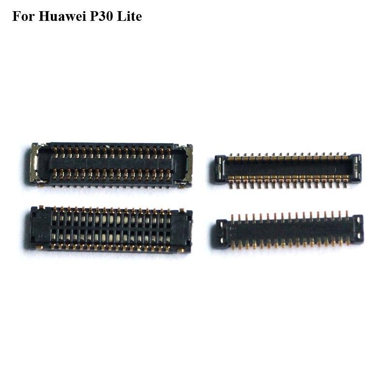 5 шт. для Huawei P30 Lite P 30 Lite ЖК-экран FPC разъем P30lite p30 lite логика на материнской плате