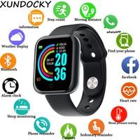 Смарт-часы для занятий спортом унисекс с цифровым рисунком Дисплей светодиодные электронные часы Bluetooth Применение фитнес для бега браслет