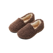 Хлопковая обувь для девочек; Новинка 2019 года; сезон осень-зима; детская хлопковая обувь; мех ягненка; Теплая обувь; нескользящая обувь для ма...