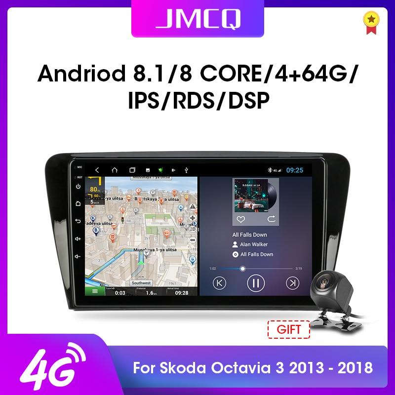 """10.1 """"2Din Android 8,1 Für Volkswagen SKODA Octavia 3 A7 2014-2018 Auto Radio Multimedia Video Player Navigation RDS Kopf Einheit"""