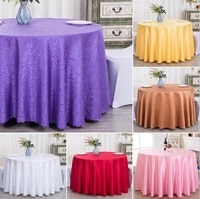 10 colours jacquard table cloth wedding table cover hotel dinner room table linen decoration wholesale damask pattern