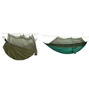 Camping Hammock with Mosquito Net,Portable Hammocks with Tree Straps,for Backpacking Travel Backyard Hiking