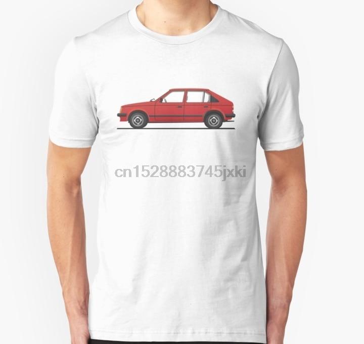 Camiseta de manga corta para hombre, Opel Kadett D Vauxhall Astra Mark 1, camiseta Unisex roja, camiseta para mujer