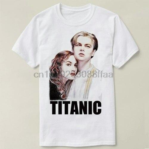 Leonordo DiCoprio Titonic футболка с коротким рукавом хлопковая футболка для женщин и мужчин