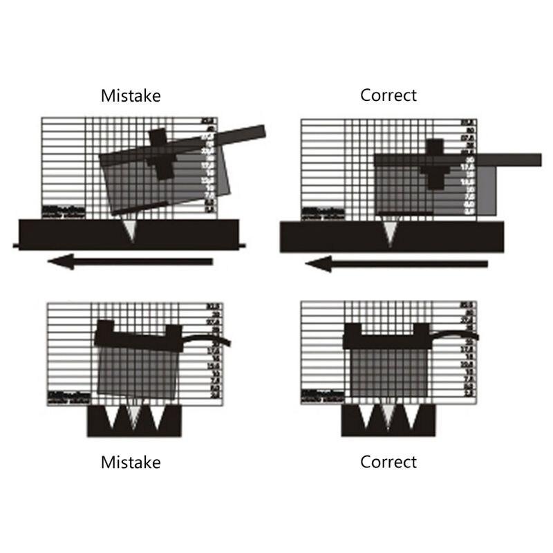 Виниловая пластинка измерительный Phono Tonearm VTA Balance Cartridge Azimuth линейка