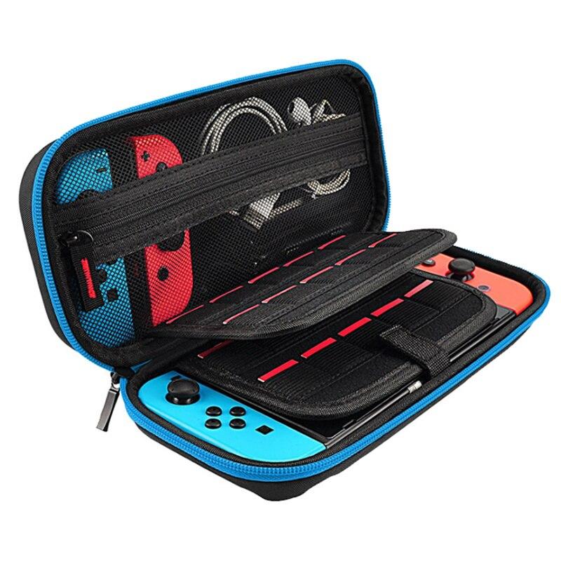 Novo portátil escudo duro nintend console durável niendo caso para nintendo switch acessórios