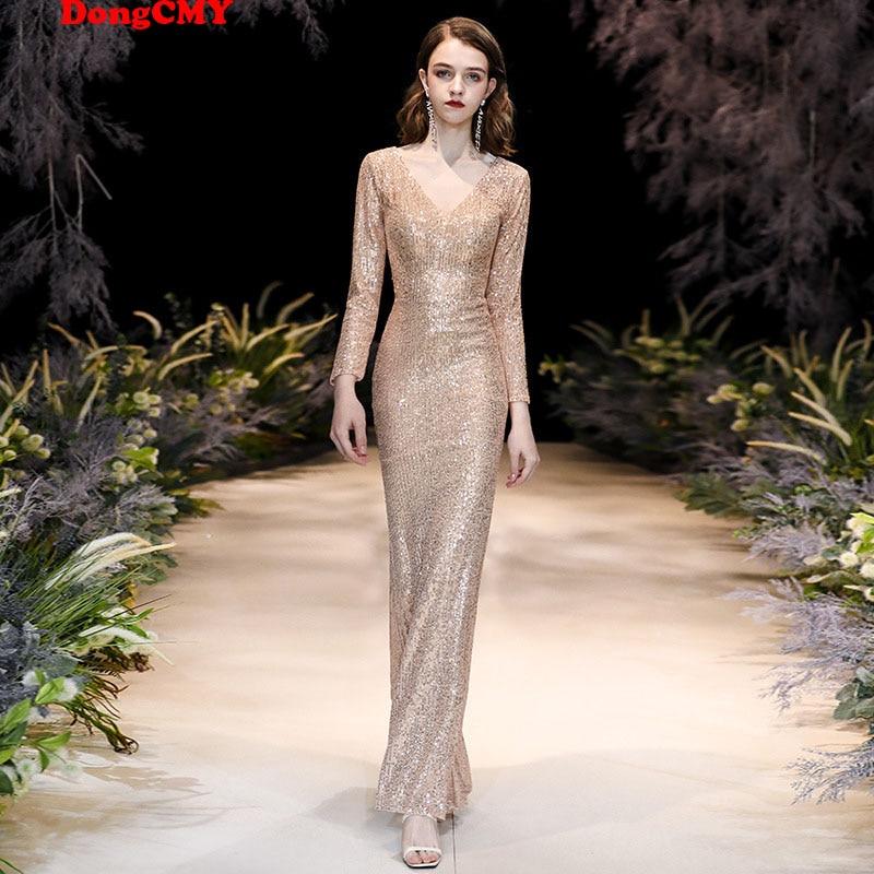 فساتين سهرة طويلة رسمية خاصة ماكسي فستان تنكري ترتر فستان سهرة بحورية البحر مقاس كبير