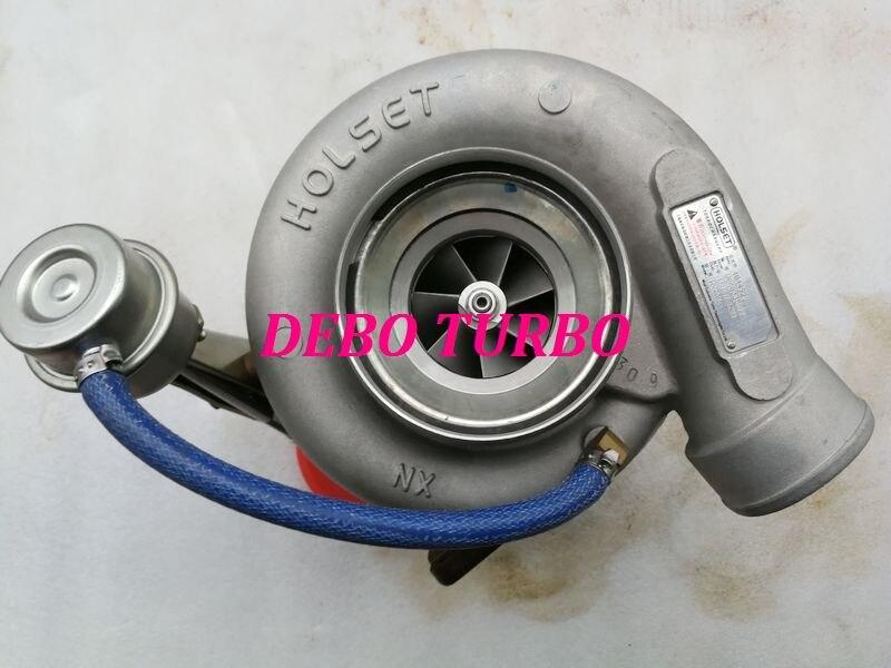 Nuevo turbocompresor genuino HOLSET HX40W 4044929 4044930 1118010-M001 Turbo para camión Dongfeng YUCHAI Diesel YC6L 8.4L 280HP 310HP