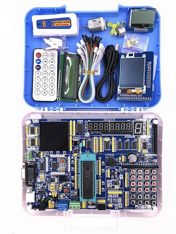 placa de desenvolvimento da placa de circuito 51 mcu placa de desenvolvimento