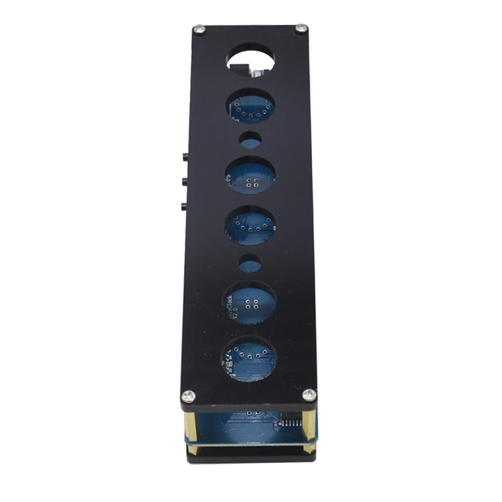 IN14 DC 12V 1A STM8S005 Control Nixie Tube RGB LED Digital Clock Module Kit DIY PCBA Circuit Board with Acrylic Shell 11V-13V enlarge