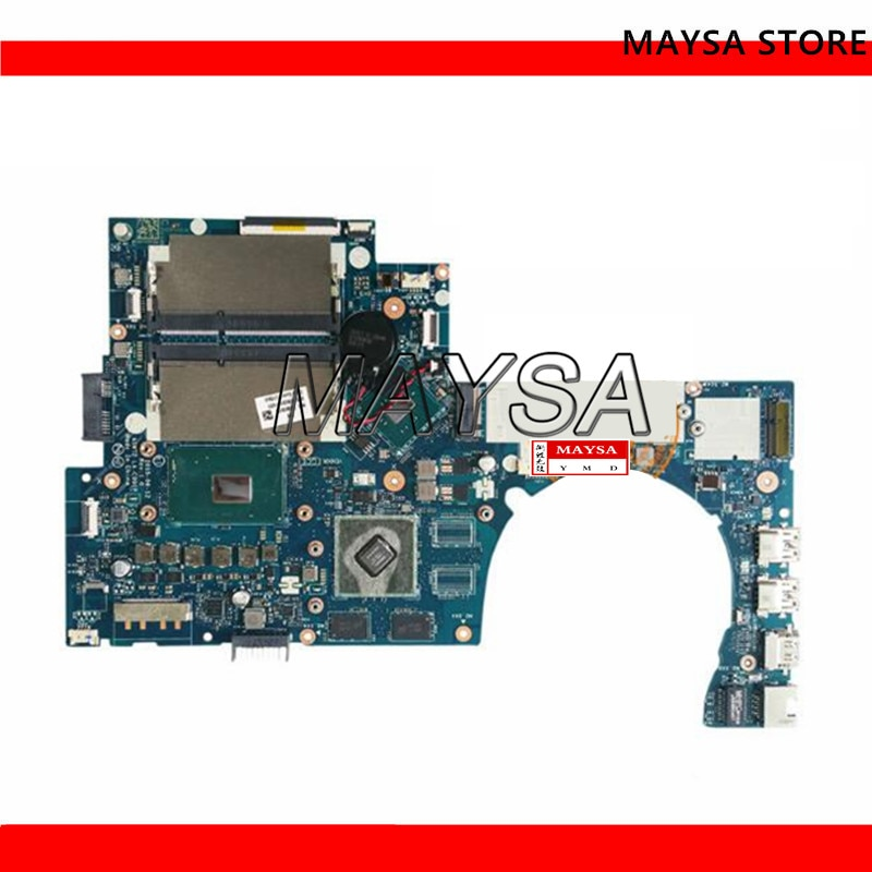 829069-001 placa madre para HP envidia 17-N 17T-N serie portátil placa base 829069-501, 829069-601 con I7-6700HQ 940M de prueba