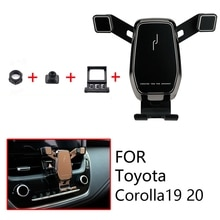 Car Mount Phone Holder Air Vent Clip Mobile Phone Holder for Toyota Corolla Accessories 2019 2020 Ca