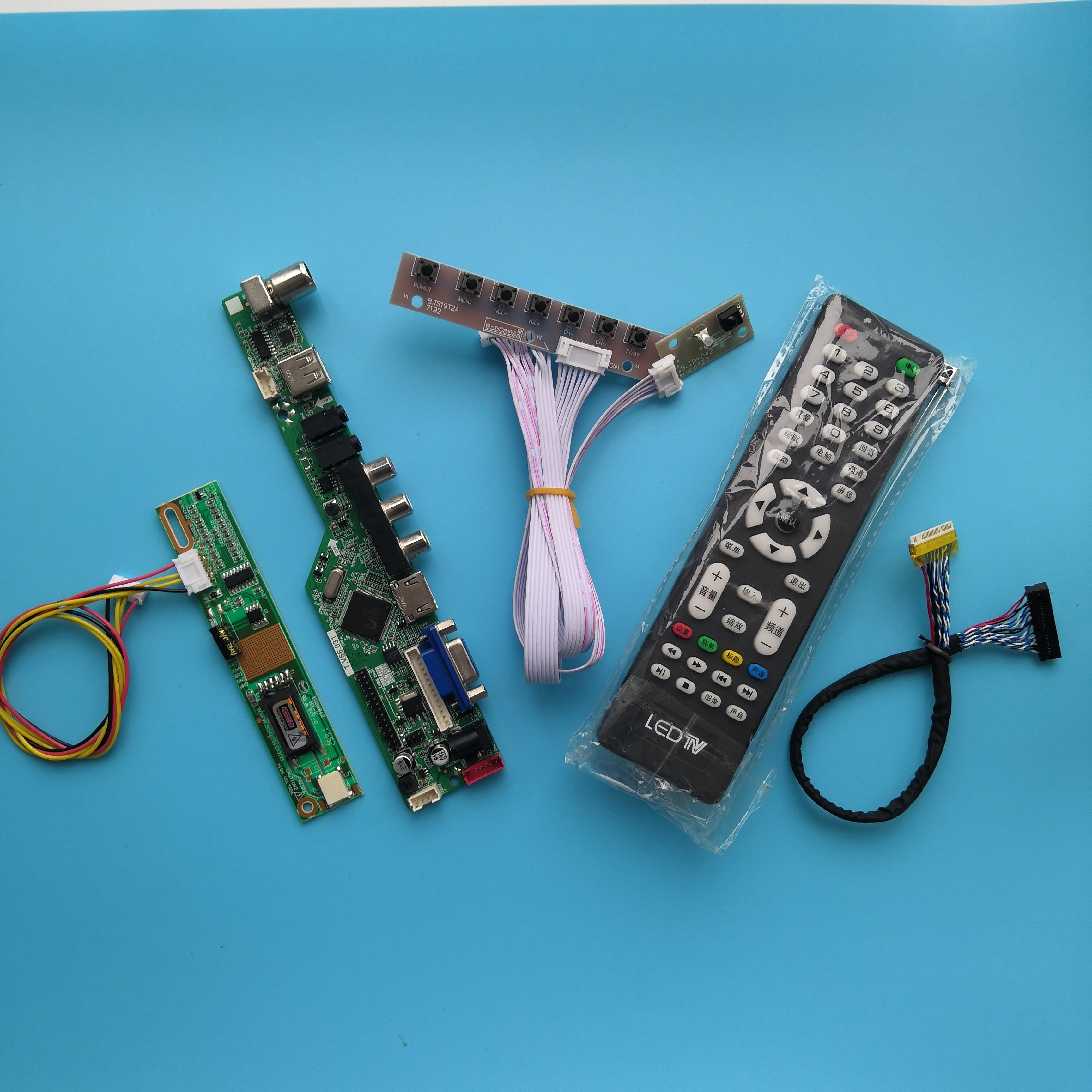 ل LP141WX3-TLQ2 وحدة تحكم USB مجلس واجهة وحدة 1 مصابيح 14.1