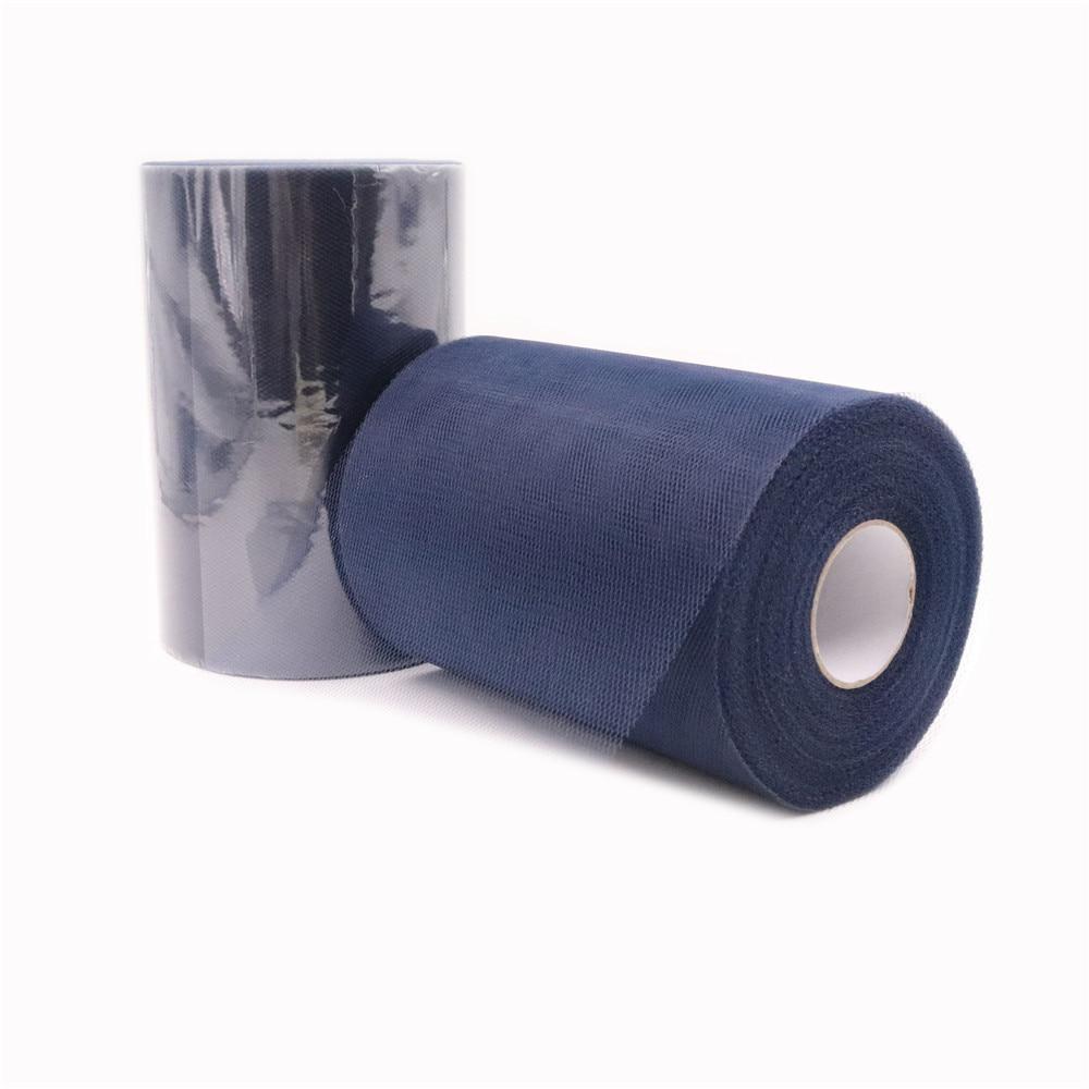 Navy Blue Tulle Roll 15cm 100 Yards Fabric Spool Baby Shower Tutu Party Gift Wrap Wedding Birthday Decoration