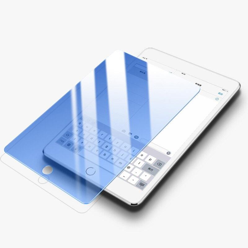 Anti Blau Licht Gehärtetem Glas Für iPad 10,2 inch 2019 Screen Protector Tablet Film Für Neue iPad 10,2 Gebogene Kante glas