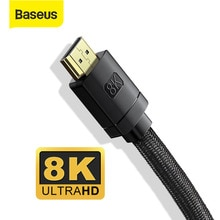 Baseus 8K HDMI-compatible Cable for Xiaomi Mi Box 8K/60Hz 4K/120Hz 48Gbps Digital Cables for PS5 PS4
