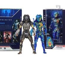NECA Figur Predator Thermische Vision Fugitive Predator Action Figure abbildung Collect Modell Spielzeug Puppe
