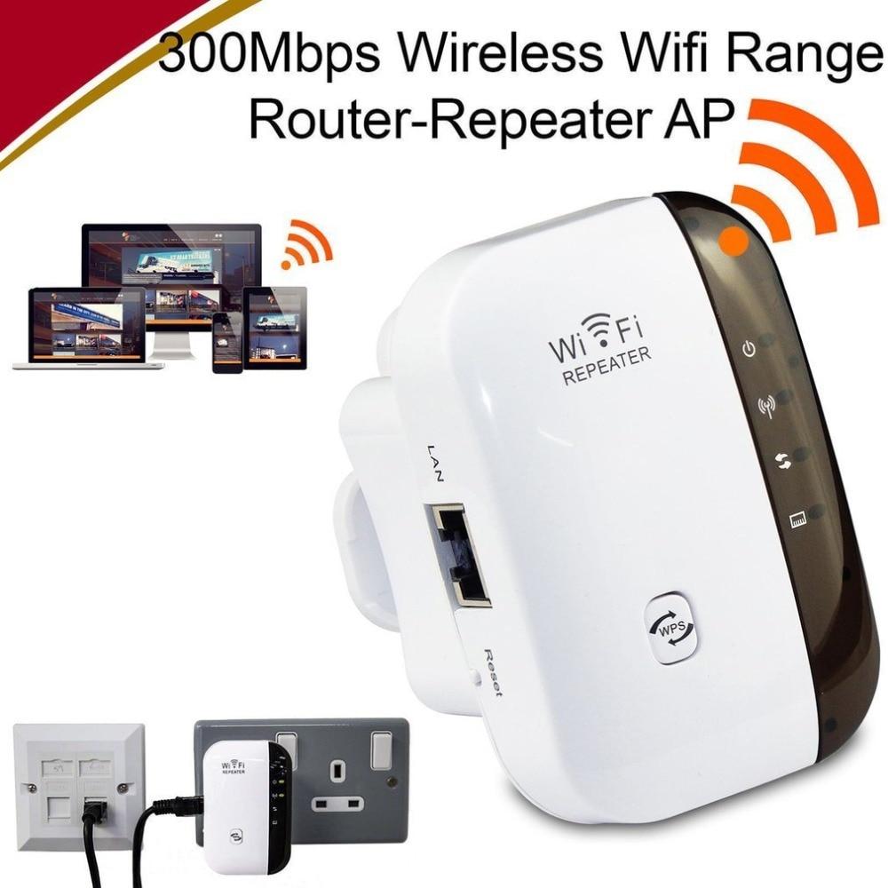 Wireless Network Repeater WiFi Signal Amplifier Home Router Extender 300m Transmit Enhanced Signal Amplifier недорого