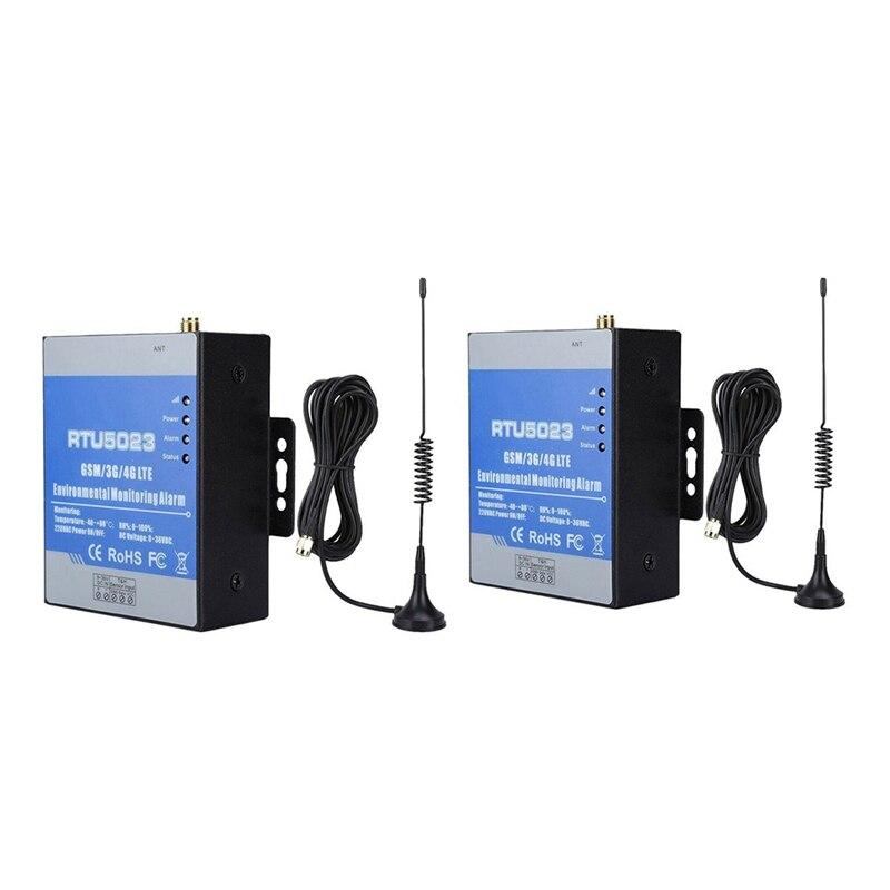 Monitor de Umidade Temperatura Energia Perdido Alarme Remoto Monitor Apoio Temporizador Relatório Controle App Rtu5023 Gsm ac – dc