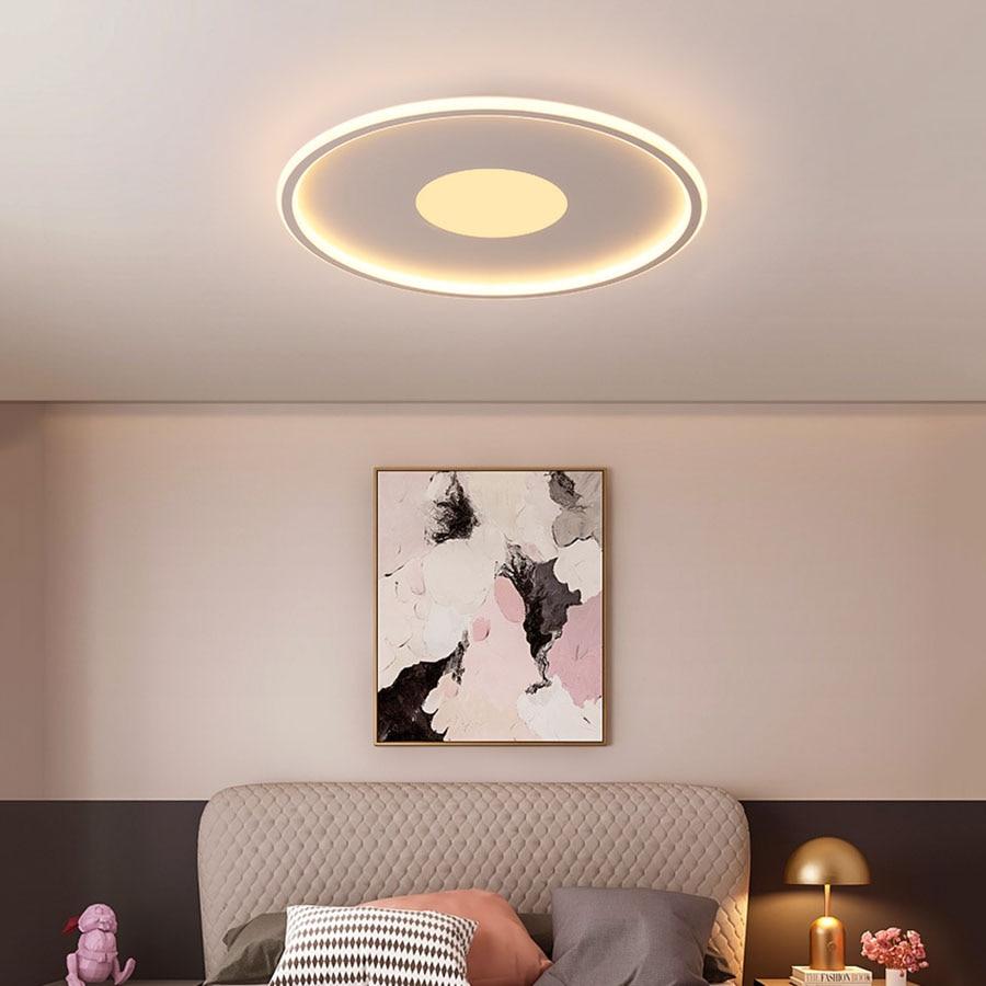 moderna sala de estar luz led lampada do teto 24w 36 42 luz teto para o quarto cozinha
