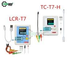 LCR-T7 TC-T7-H LCR-TC1 Multifunktionale Diode Triode Kapazität Meter TFT Hintergrundbeleuchtung Transistor Tester LCR ESR Meter Multimeter