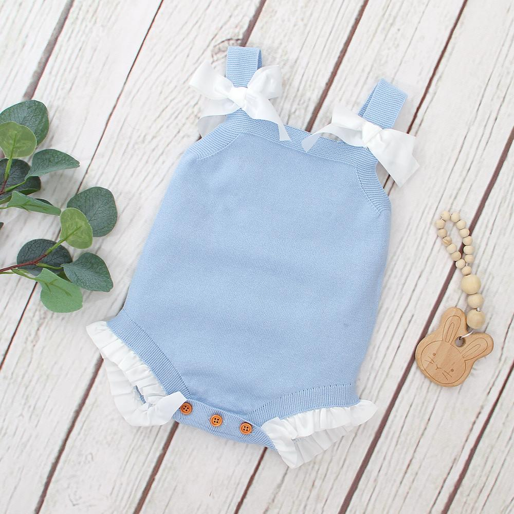 Baby Girls Bodysuits Clothes Summer Sleeveless Newborn Bebes Body Tops 0-18M Toddler Infant Jumpsuits Sunsuits Children Costumes