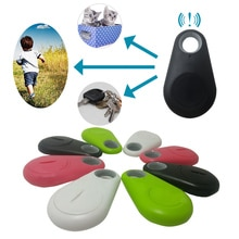 Wallet Bag Kids Trackers Finder 1pc Pets Smart Mini GPS Tracker Anti-Lost Waterproof Bluetooth Tracer For Pet Dog Cat Keys