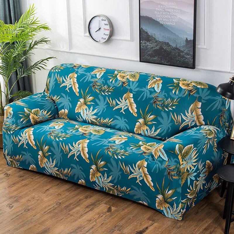 Printed Sofa Cover 1/2/3/4 Seat Flexible Stretch Sofa Covers Slipcovers Seat Couch Covers Love-seat Furniture Home Decoration