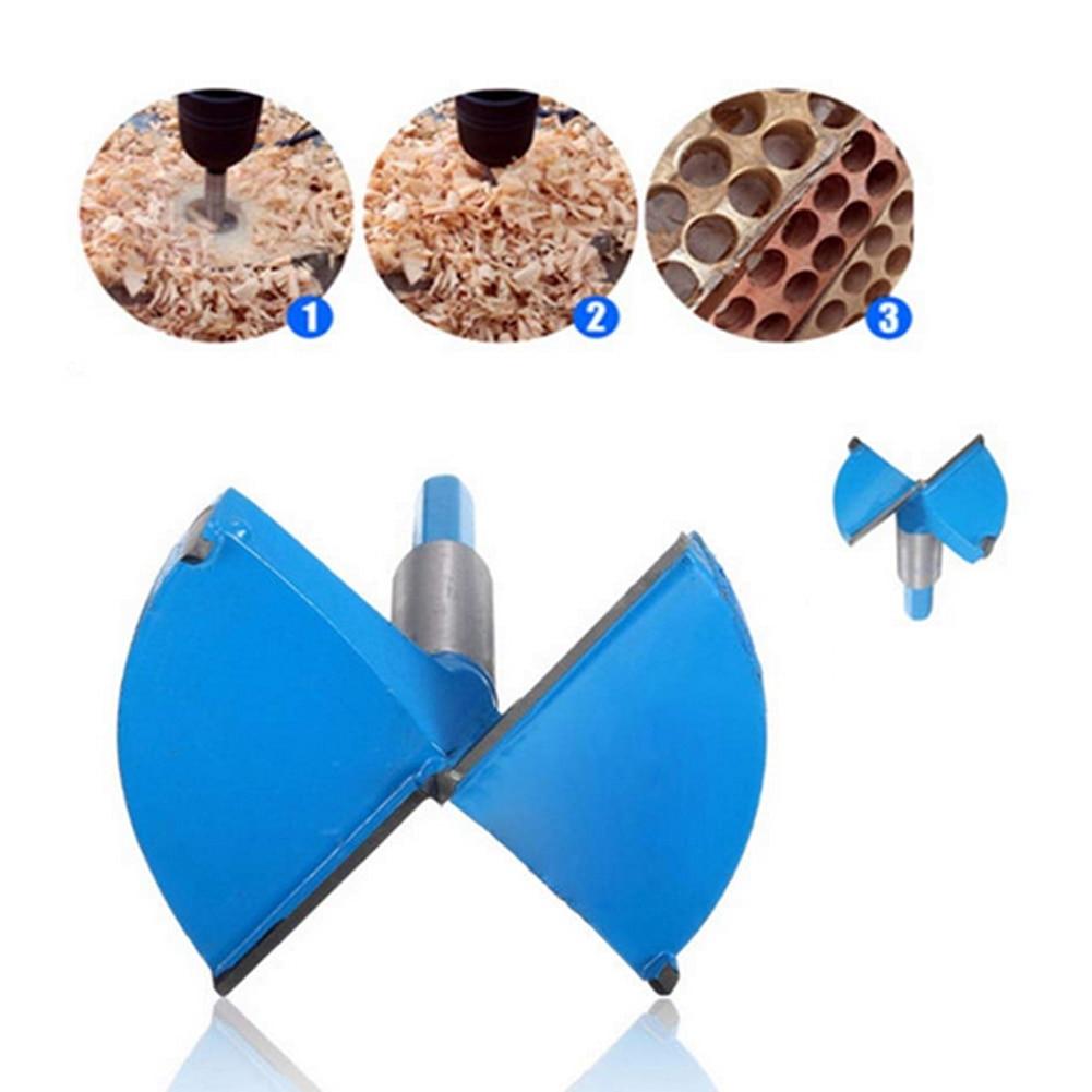 Sierra perforadora de aleación para carpintería de 50-85mm, brocas Forstner, herramientas manuales duras para trabajo de madera, punzonado de esquina de la Mesa de madera