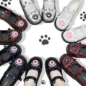 Japanese Lolita cute student jk uniform shoes doll shoes low heel 1-3cm princess tea party  kawaii girl lolita cosplay loli