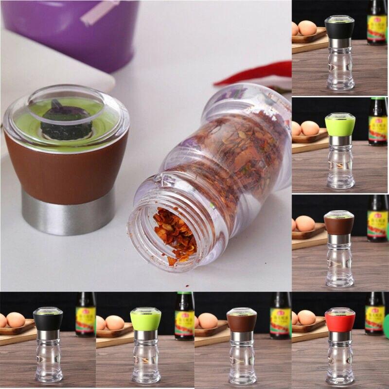 Мельница для соли и перца мельница для перцемолки шейкер контейнер для специй Приправа Контейнер Для Приправ Держатель для кухни шлифовальные бутылки инструменты