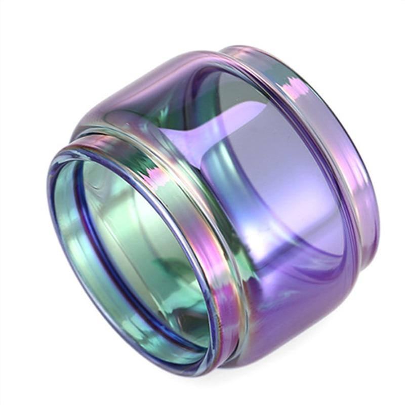 5pcs Colored Rainbow bubble glass tube for smok TFV12 prince cobra Stick Prince E X T-prive kit TF-RTA G4 Sub Ohm mesh 24 RTA enlarge