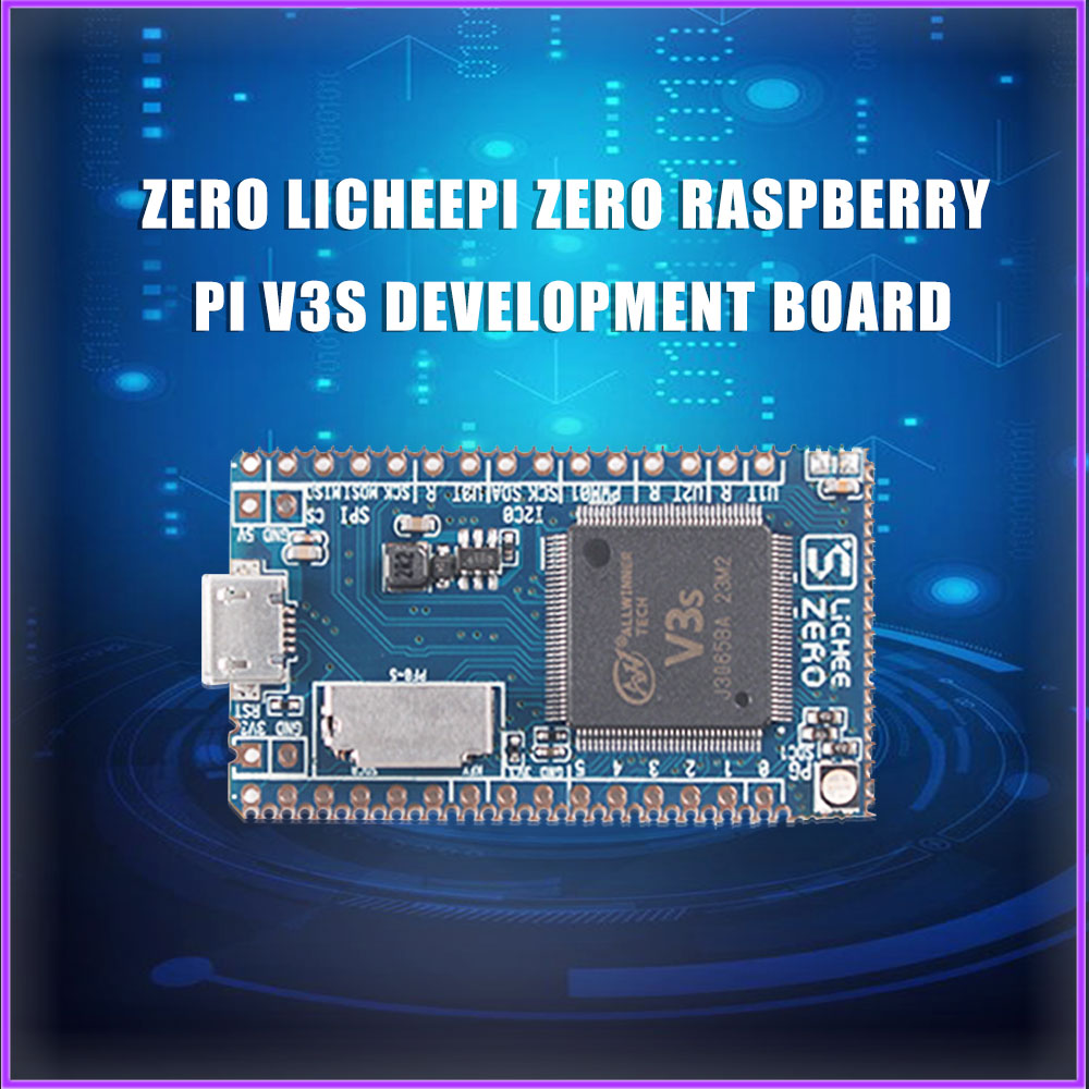 Lichee صفر LicheePi صفر التوت Pi V3S مجلس التنمية Cortex-A7 صغير الأساسية مجلس صفر لوح تمديد