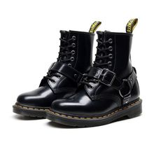 Martens Boots 8-hole Sofet Platform Martin Boots Women Retro Lace-up Boots Men Women Ankle Boots