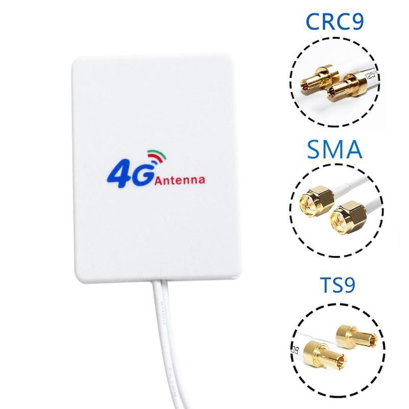HJ0004 700-2700Mhz 28dbi LTE Externe Antenne Router Modem Antenne Doppel RG174 28dbi mit Stecker für HUAWEI E3276