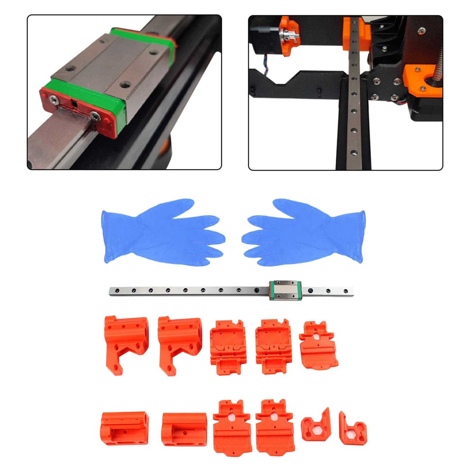 X A-x-i-s محامل إرشادية خطية للسكك الحديدية متوافقة مع طابعات Prusa i3 mk3s مصنوعة من مواد متميزة