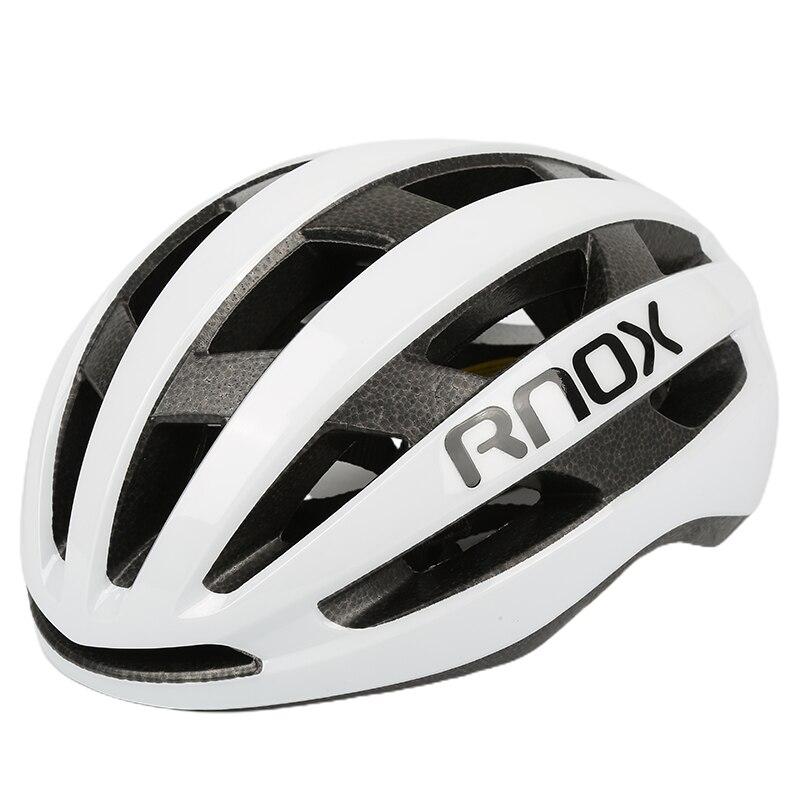 Rnox-Casco aerodinámico de seguridad para bicicleta, ultraligero, Casco de Bicicleta de carretera,...
