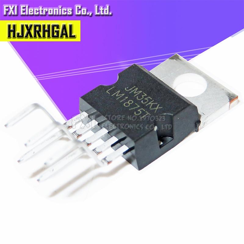 10 Uds LM1875T LM1875 TO220-5 TO220 20W Audio Ampli nuevo original