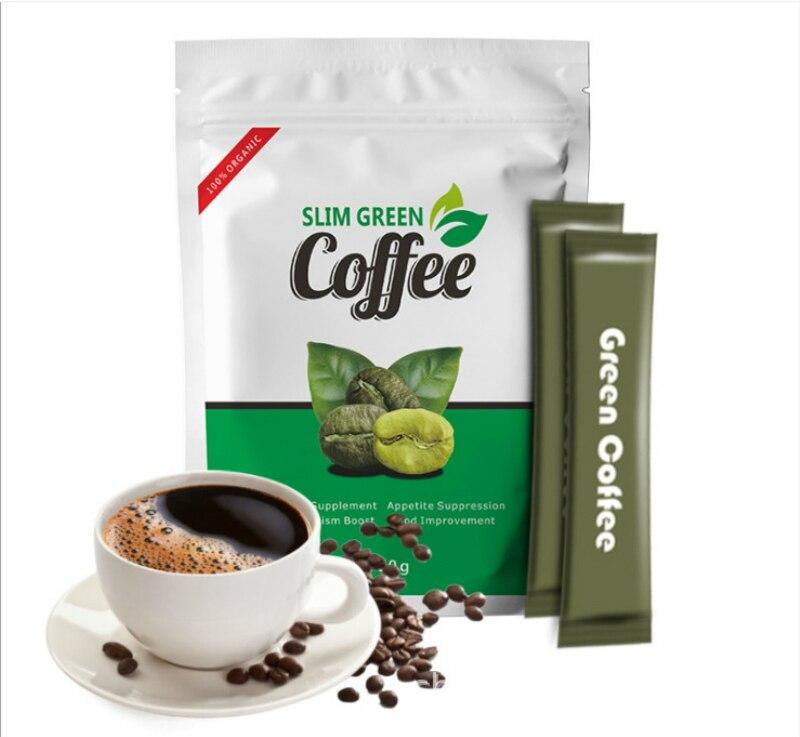 Emagrecimento da perda de peso do chá da desintoxicação do peso do controle de ganoderma do café verde magro com comprimidos ardente gordos da dieta do chá da saúde anti celulite
