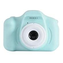 Jouet enfants caméra de mouvement enfants caméra 2 pouces écran Hd enfants caméra dessin animé numérique Mini caméscope vidéo, bleu